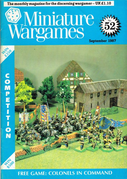 Image for MINIATURE WARGAMES NO.52