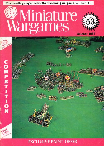 Image for MINIATURE WARGAMES NO.53