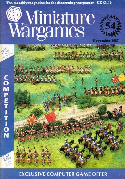 Image for MINIATURE WARGAMES NO.54