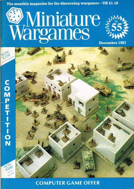 Image for MINIATURE WARGAMES NO.55