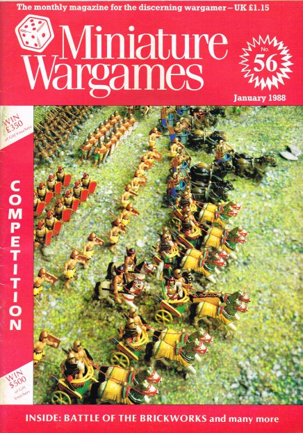 Image for MINIATURE WARGAMES NO.56