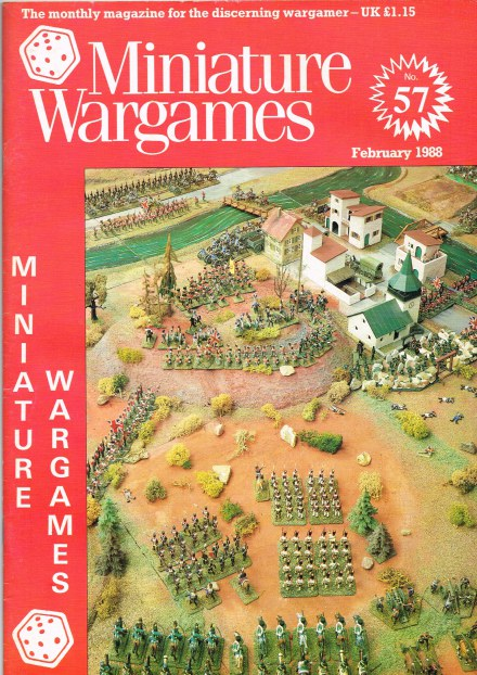 Image for MINIATURE WARGAMES NO.57