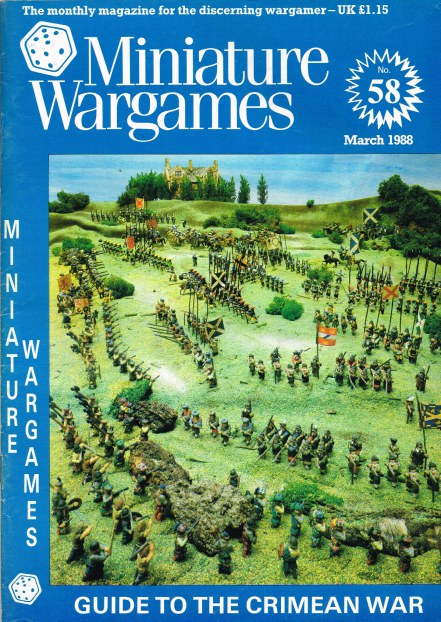 Image for MINIATURE WARGAMES NO.58