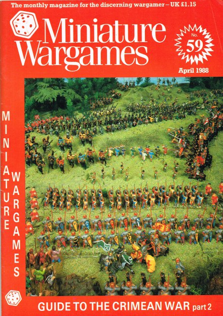Image for MINIATURE WARGAMES NO.59