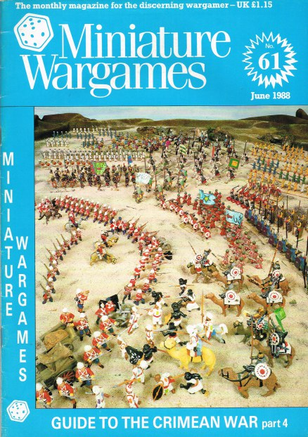 Image for MINIATURE WARGAMES NO.61