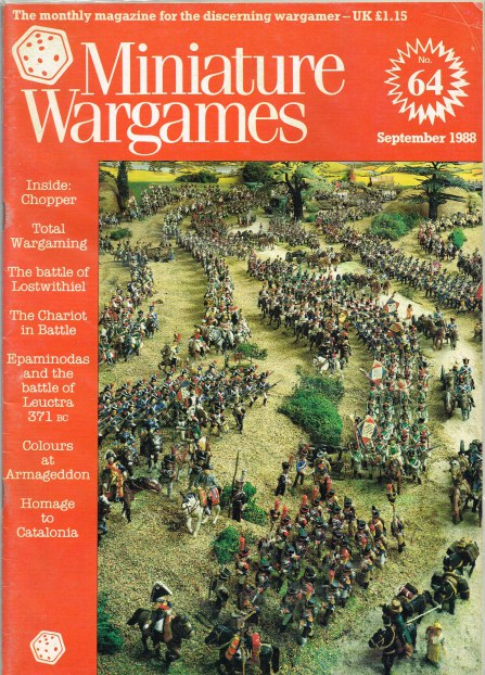 Image for MINIATURE WARGAMES NO.64
