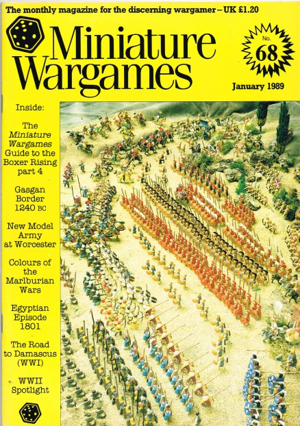Image for MINIATURE WARGAMES NO.68