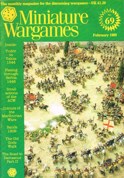 Image for MINIATURE WARGAMES NO.69