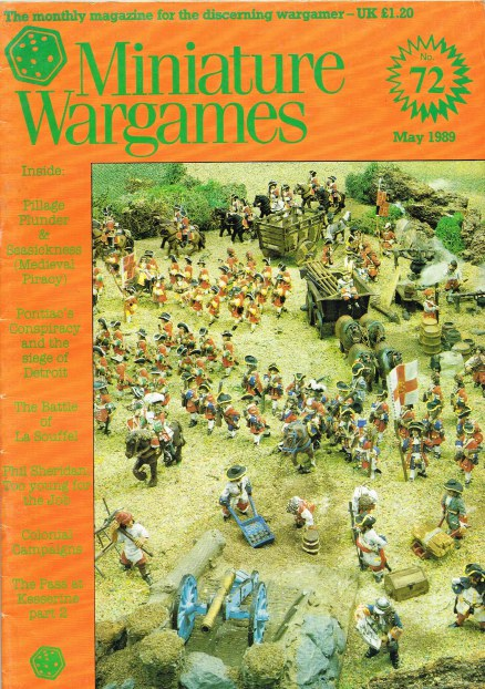 Image for MINIATURE WARGAMES NO.72