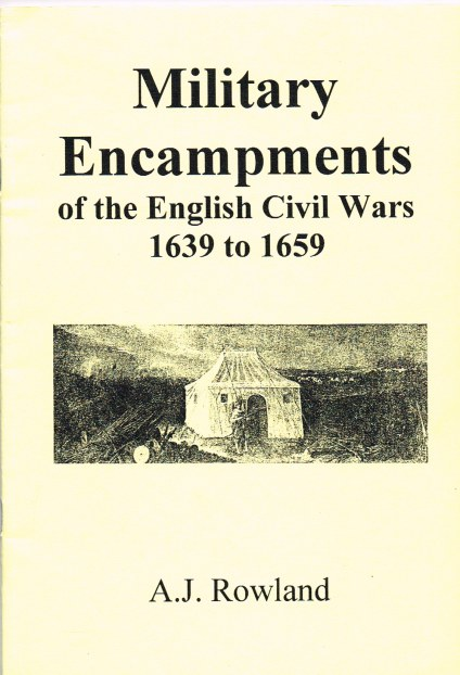 Image for MILITARY ENCAMPMENTS OF THE ENGLISH CIVIL WARS 1639-1659
