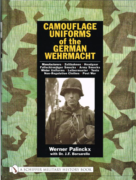 Image for CAMOUFLAGE UNIFORMS OF THE GERMAN WEHRMACHT