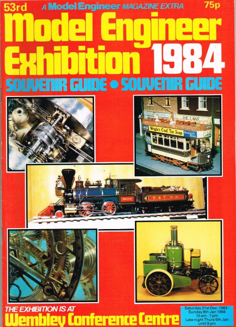 Image for 53RD MODEL ENGINEER EXHIBITION 1984 SOUVENIR GUIDE
