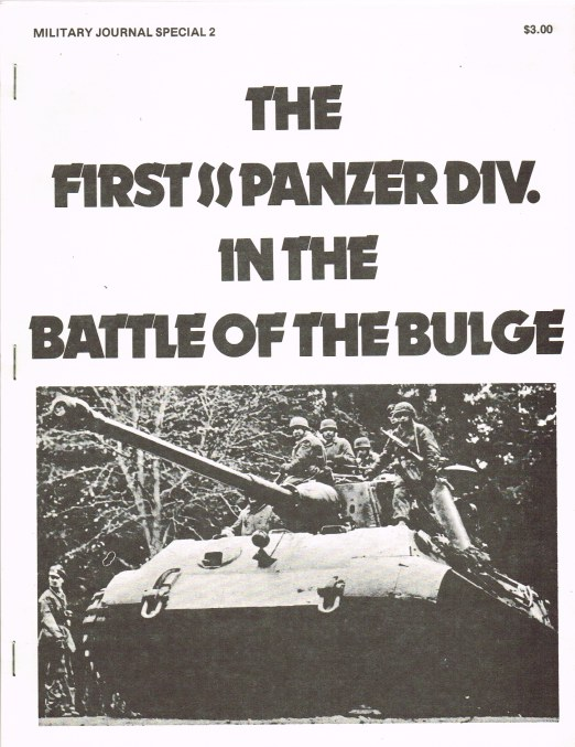 Image for THE 1ST SS PANZER DIVISION IN THE BATTLE OF THE BULGE