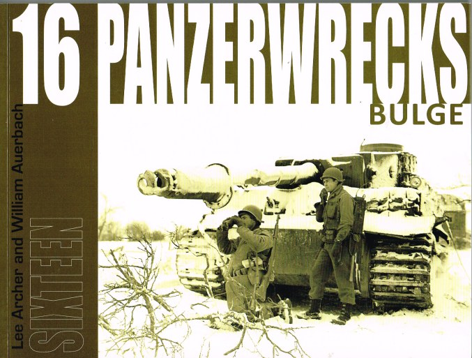 Image for PANZERWRECKS 16: BULGE