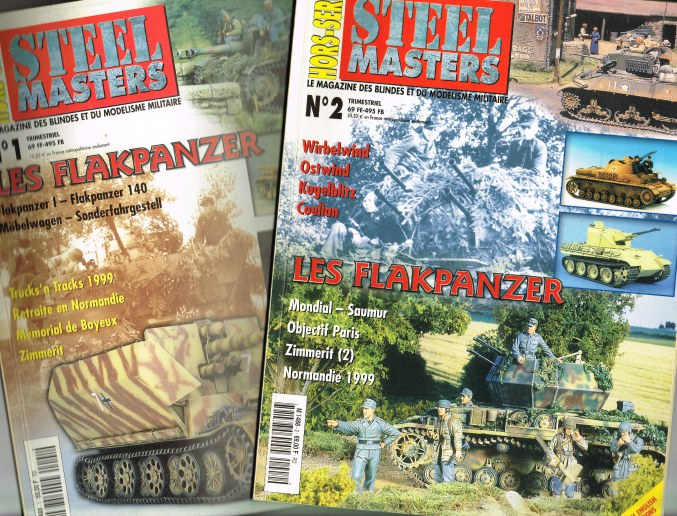 Image for STEEL MASTERS HORS-SERIE NO.1 + HORS-SERIE NO.2: LES FLAKPANZER (TWO VOLUMES)