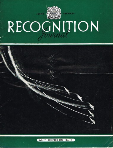 Image for JOINT SERVICES RECOGNITION JOURNAL: VOL.17, NO.12 DECEMBER 1962