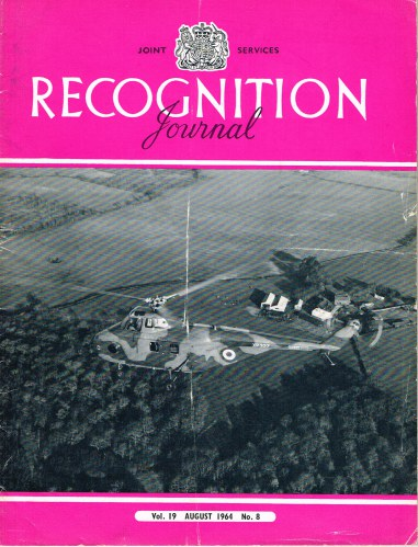 Image for JOINT SERVICES RECOGNITION JOURNAL: VOL.19, NO.8: AUGUST 1964