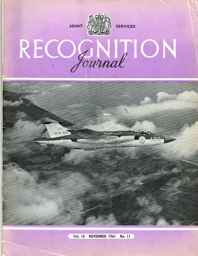 Image for JOINT SERVICES RECOGNITION JOURNAL: VOL.16, NO.11: NOVEMBER 1961