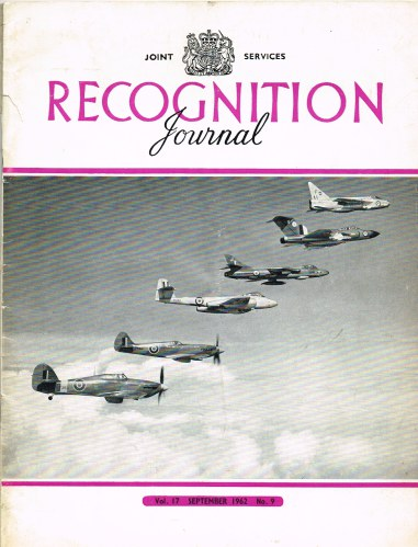 Image for JOINT SERVICES RECOGNITION JOURNAL: VOL.17, NO.9 SEPTEMBER 1962