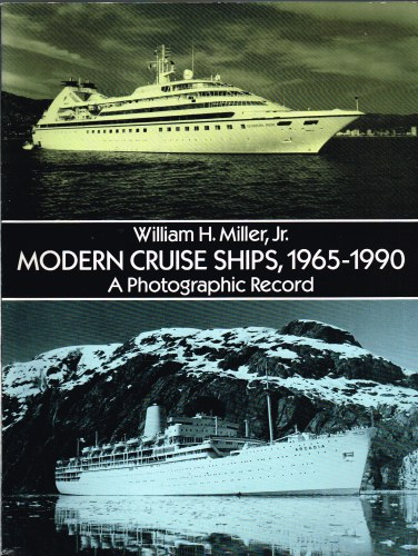 Image for MODERN CRUISE SHIPS, 1965-1990: A PHOTOGRAPHIC RECORD