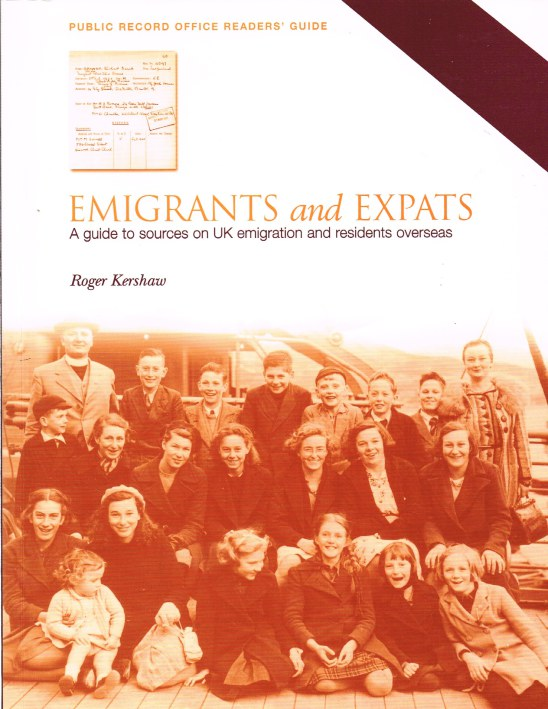 Image for EMIGRANTS AND EXPATS: A GUIDE TO SOURCES ON UK EMIGRATION AND RESIDENTS OVERSEAS