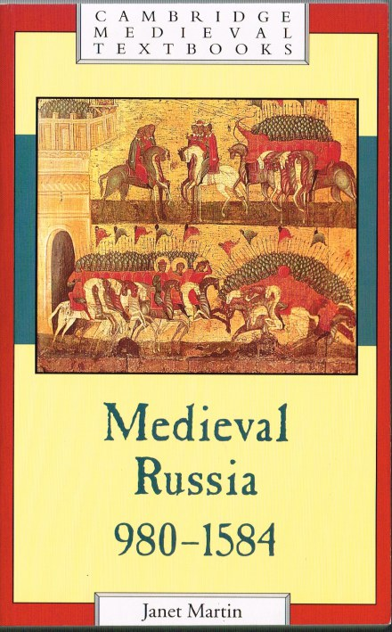 Image for MEDIEVAL RUSSIA, 980 - 1584