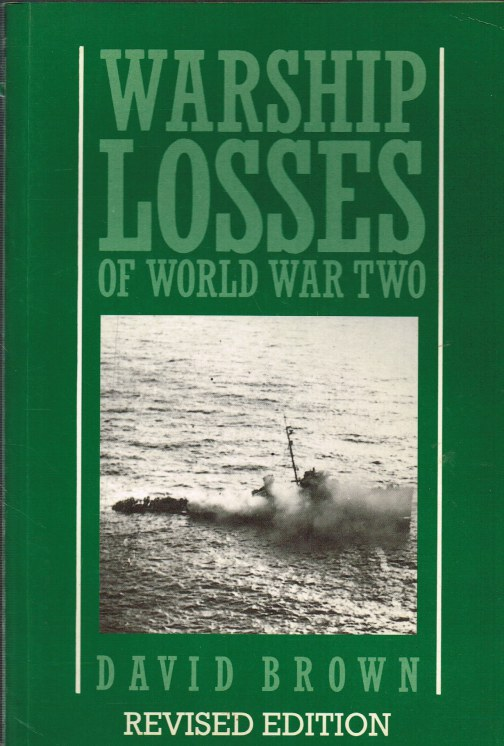 Image for WARSHIP LOSSES OF WORLD WAR TWO