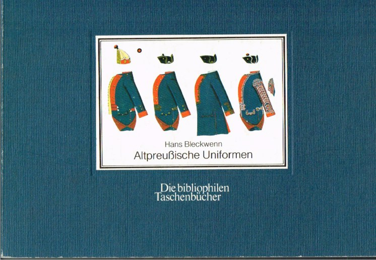Image for ALTPREUSSISCHE UNIFORMEN 1753-1786