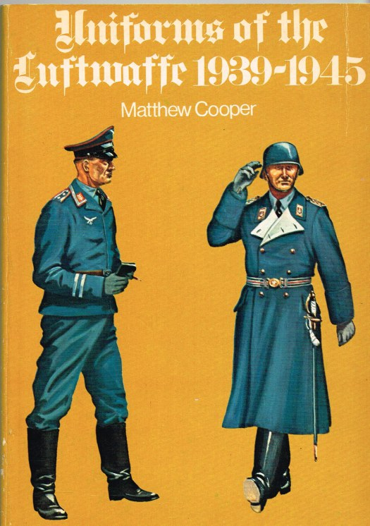 Image for UNIFORMS OF THE LUFTWAFFE 1939-1945