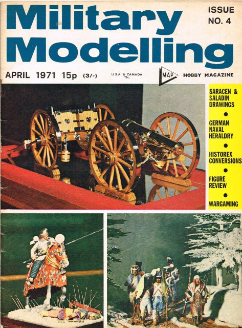 Image for MILITARY MODELLING VOLUME 1: ISSUE NO.4: APRIL 1971