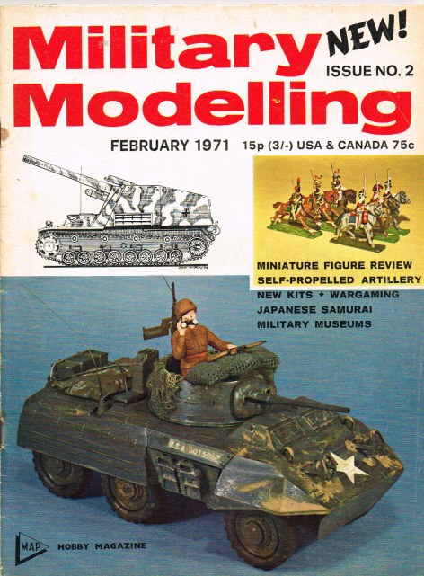 Image for MILITARY MODELLING VOLUME 1: ISSUE NO.2: FEBRUARY 1971