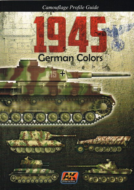 Image for CAMOUFLAGE PROFILE GUIDE: 1945 GERMAN COLORS