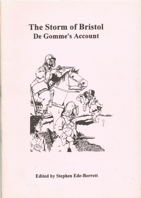 Image for THE STORM OF BRISTOL: DE GOMME'S ACCOUNT