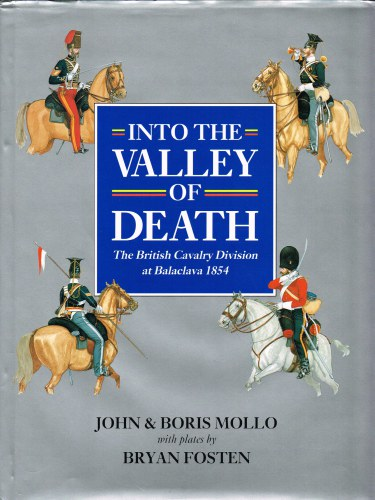 Image for INTO THE VALLEY OF DEATH: THE BRITISH CAVALRY DIVISION AT BALACLAVA 1854