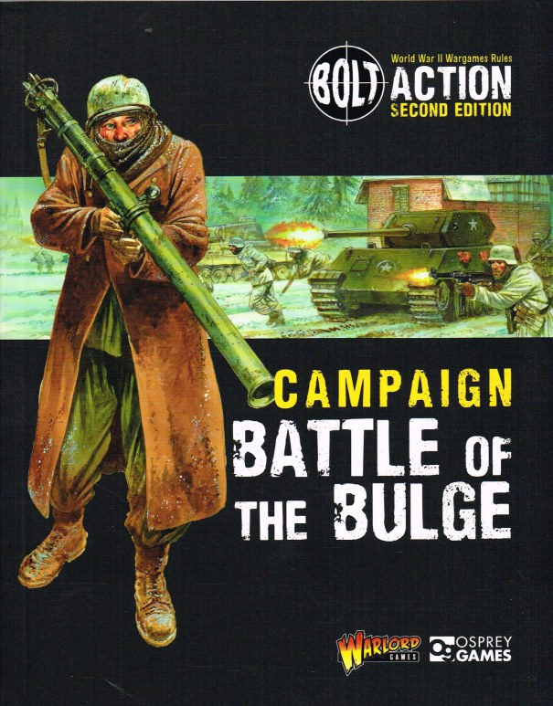 Image for BOLT ACTION SECOND EDITION: CAMPAIGN: BATTLE OF THE BULGE