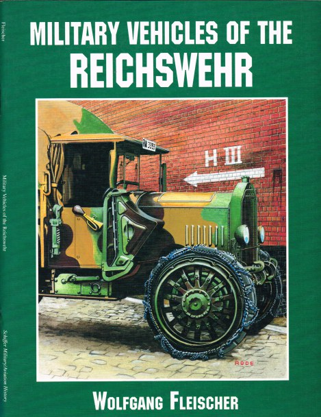 Image for MILITARY VEHICLES OF THE REICHSWEHR