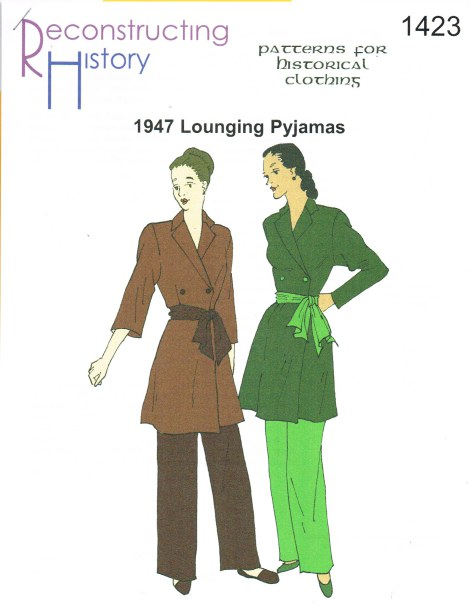 Image for RH1423: LADIES' LOUNGING PYJAMAS CIRCA 1947