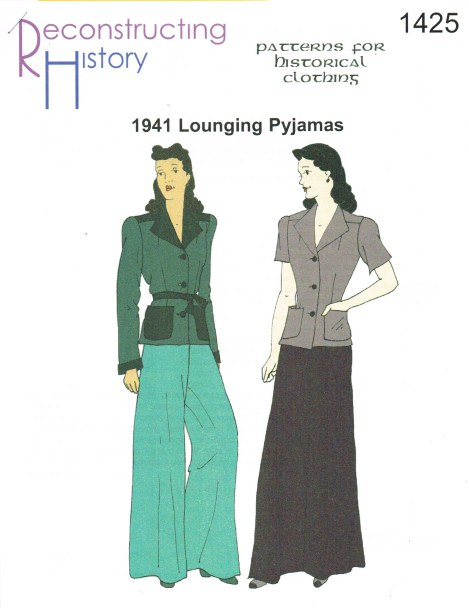 Image for RH1425: LADIES' LOUNGING PYJAMAS CIRCA 1941