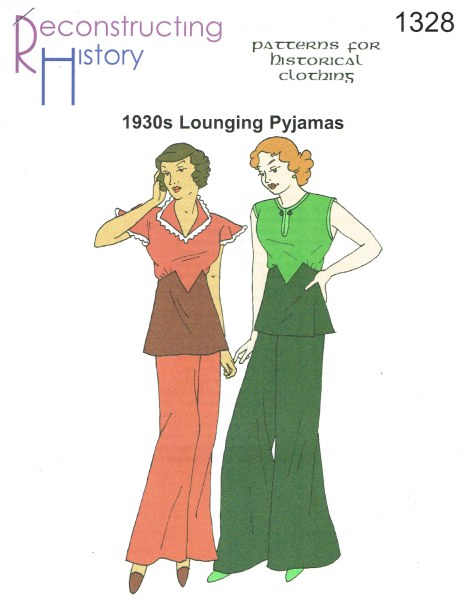 Image for RH1328: LADIES' LOUNGING PYJAMAS FROM THE EARLY 1930S