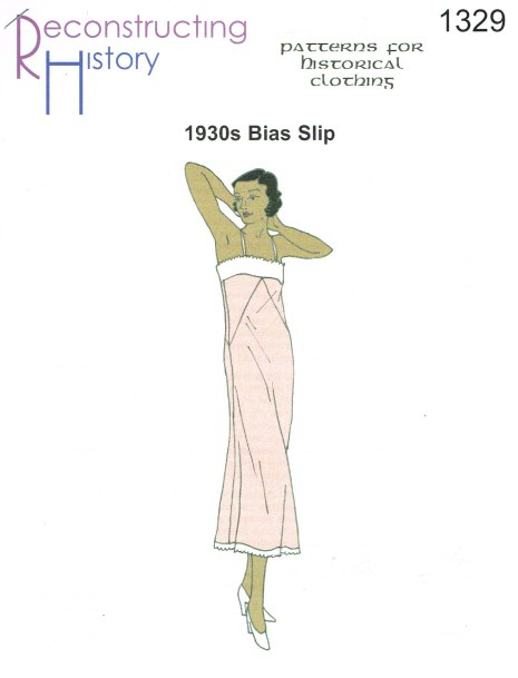 Image for RH1329: LADIES' BIAS SLIP CIRCA 1930
