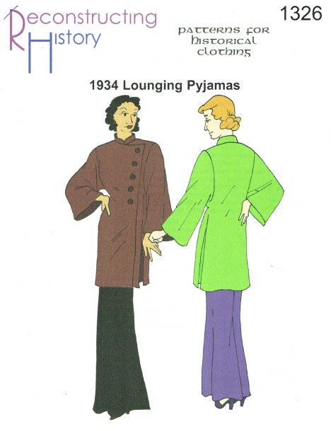 Image for RH1326: LADIES' LOUNGING PYJAMAS CIRCA 1934