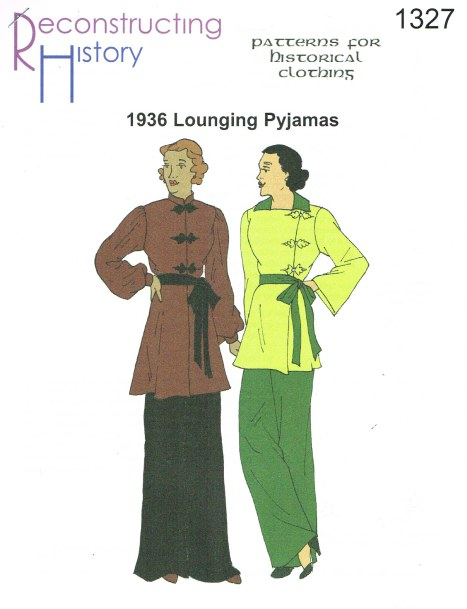 Image for RH1327: LADIES' LOUNGING PYJAMAS CIRCA 1936