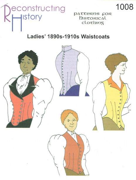 Image for RH1008: LADIES' WAISTCOATS FOR 1890S-1910S