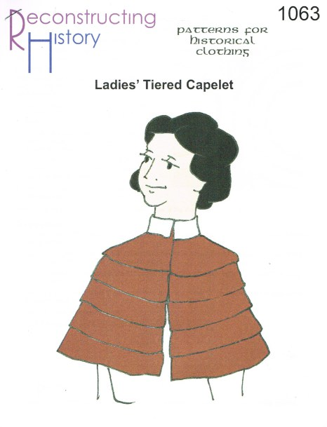 Image for RH1063: LADIES' TIERED CAPELETS
