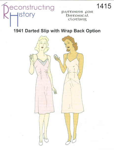 Image for RH1415: LADIES' DARTED SLIP CIRCA 1941