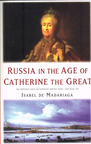 Image for RUSSIA IN THE AGE OF CATHERINE THE GREAT