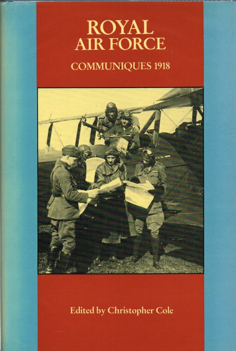 Image for ROYAL AIR FORCE COMMUNIQUES 1918