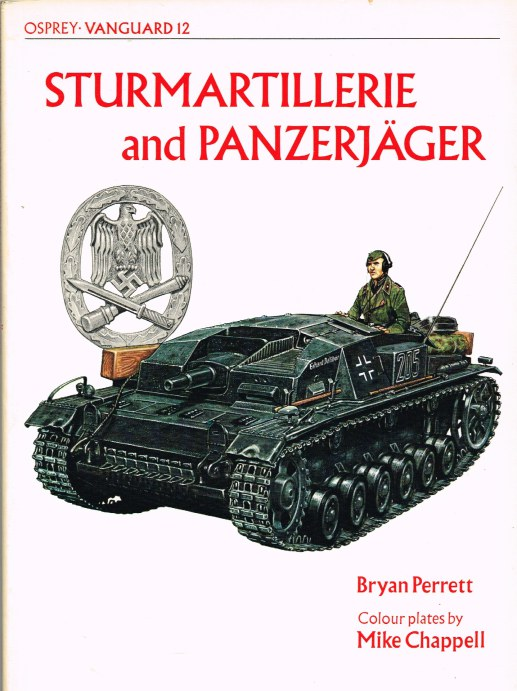 Image for OSPREY VANGUARD 12: STURMARTILLERIE AND PANZERJAGER