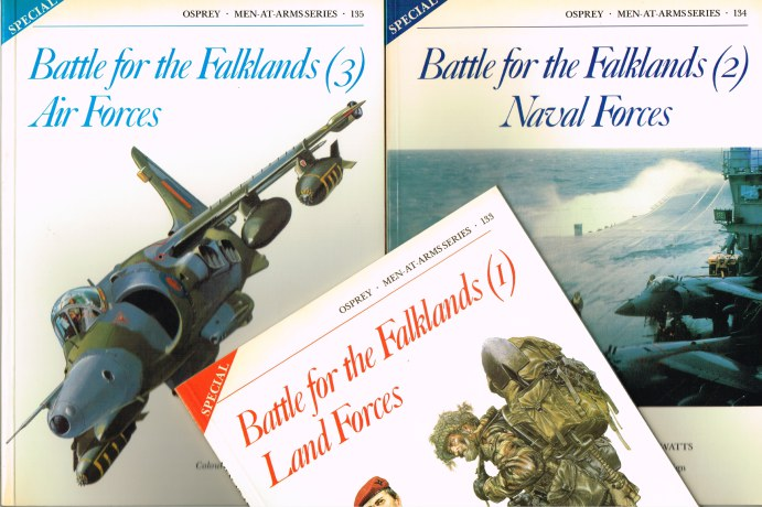 Image for BATTLE FOR THE FALKLANDS (THREE VOLUME SET)