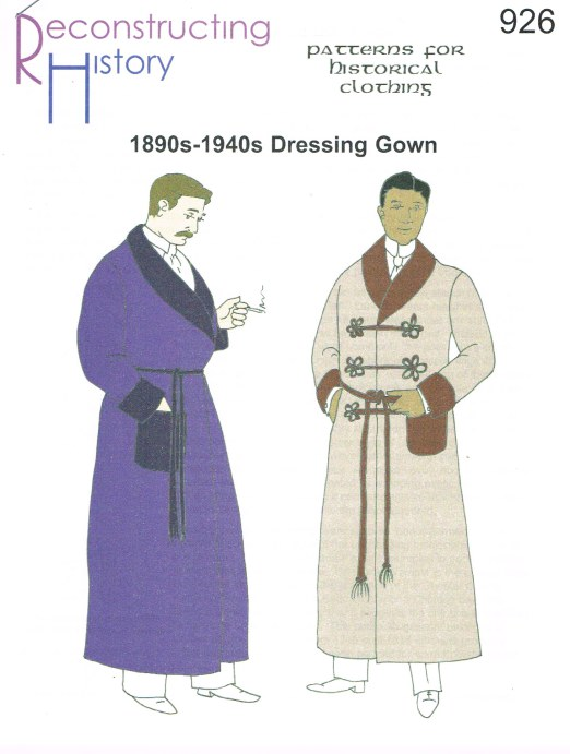 Image for RH926: 1890S-1950S DRESSING GOWN